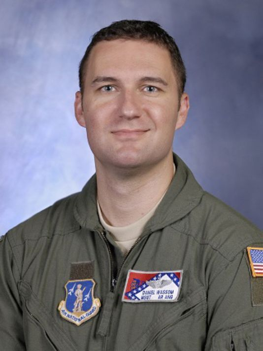 """RIP - Master Sgt. Dan """"Bud"""" Wassom II's last action in this life was using his body to shield his 5-year-old daughter Lorelai as a tornado demolished their Arkansas home.  April 2014"""