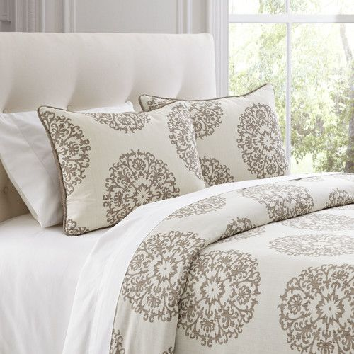 Found it at Wayfair - Carol Beige Duvet Cover Set