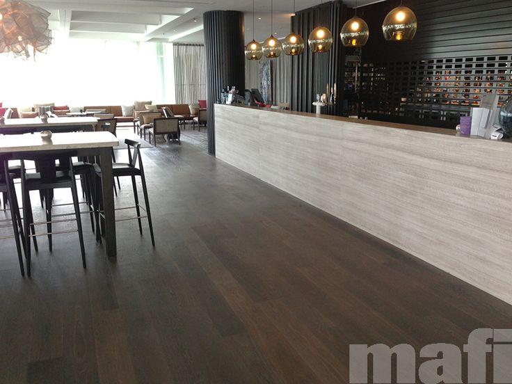 Sheraton Mirage Resort & Spa Gold Coast by DBI Design. Pearls Bar featuring mafi Oak Vulcano Brushed White Oil timber floors.
