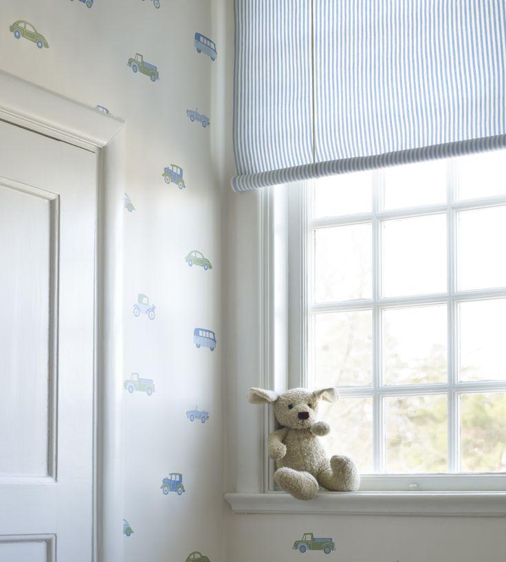 How To Style | Boys Rooms | Hjalmar Wallpaper by Sandberg | Jane Clayton