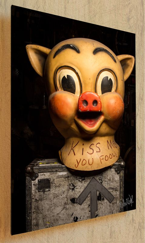 Piggly Wiggle pig costume head thinwrap | Art of the Pick | Antique Archaeology | Mike Wolfe American Picker