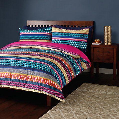 Buy John Lewis Tana Duvet Cover and Pillowcase Set Online at johnlewis.com