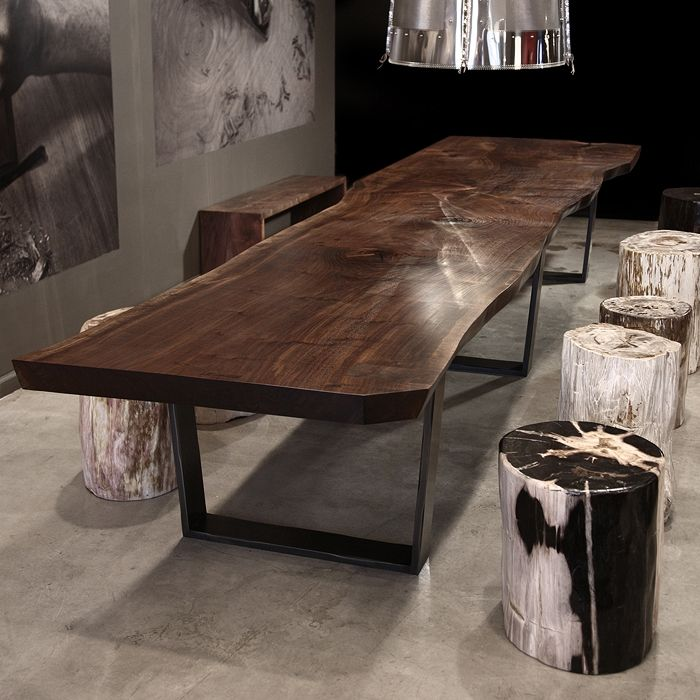 Hudson Furniture, Dining-Tables, TAPERED BASE