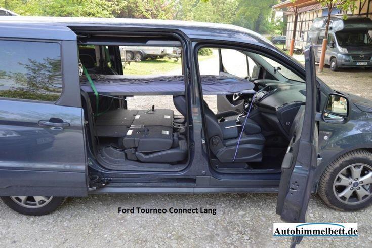 Спящая в Ford Tourneo Connect Лонг II (Bi, так как 2013). | Комфортное проживание в машине с Auto-Himmelbett.de