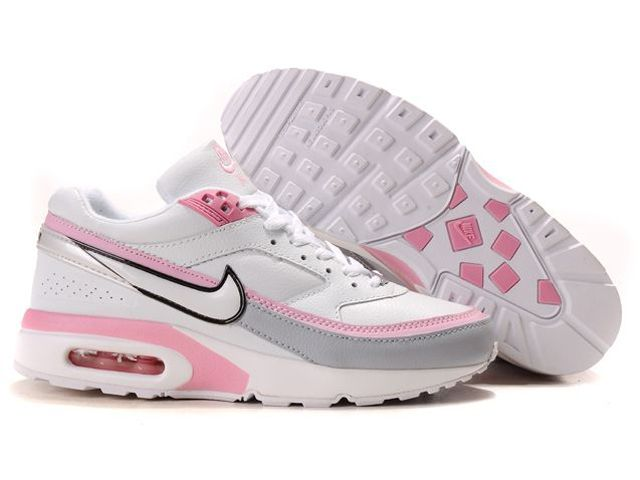 Chaussures Nike Air Classic BW Argent/ Rose/ Blanc/ Noir [nike_10389] -
