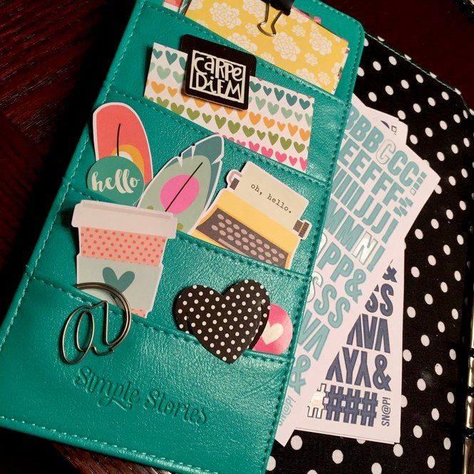 November Weekly - Simple Stories Carpe Diem Planner - Kristine Davidson
