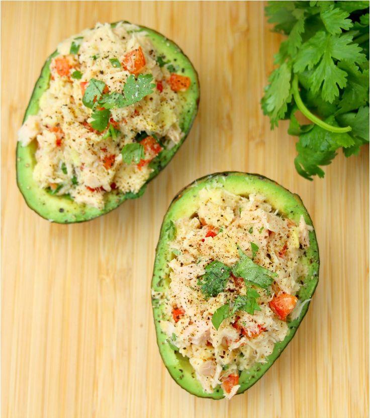 Wild Tuna Stuffed Avocado Recipe