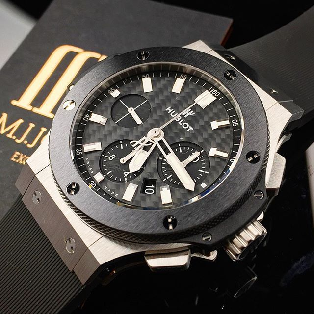 #mulpix Iconic #Hublot #BigBang in steel & ceramic landing soon! Enquire…