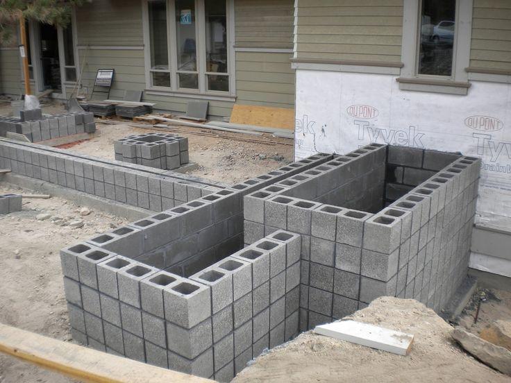 Scored Cmu Wall Google Search Urban Frontyards