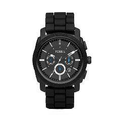 Fossil FS4487 Black Chronograph Watch