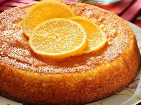 Gâteau de semoule à l'orange - Recettes