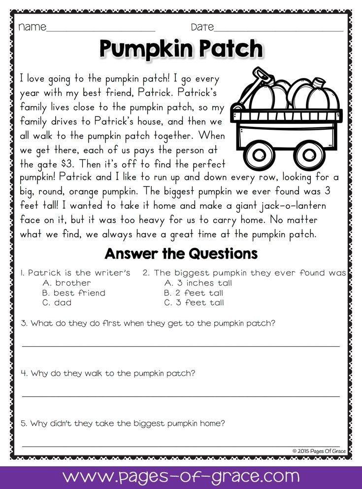 Pin De Toddler Learning Ideas En COMPREHENSION WORKSHEETS