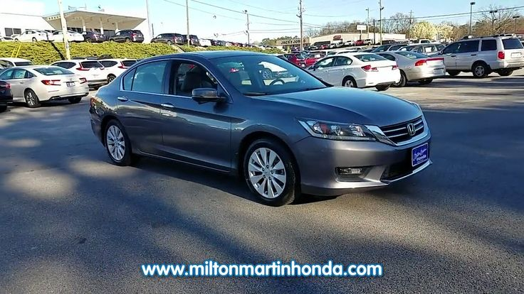 USED 2014 Honda ACCORD 4DR I4 CVT EX-L at Milton Martin Honda  #35204A
