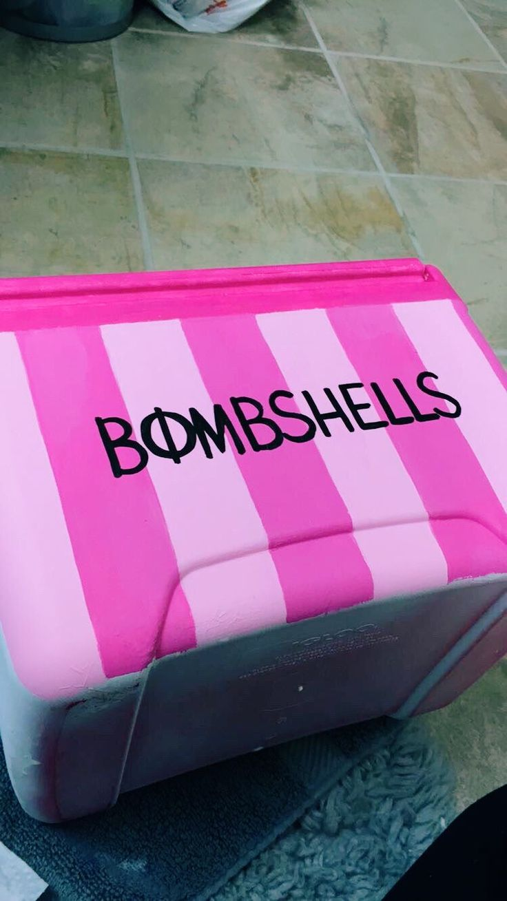 27 best phi mu images on pinterest sorority life delta zeta and painted cooler with acrylics and outdoor modge podge with a primer base layer biocorpaavc Images