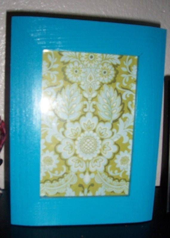Framed Scrapbook paper