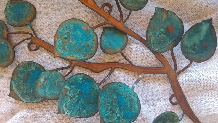 Aspen Leaf Wall Hanging By Gowenstudios On Etsy Leaf Wall Art Aspen Leaf Wall Hanging