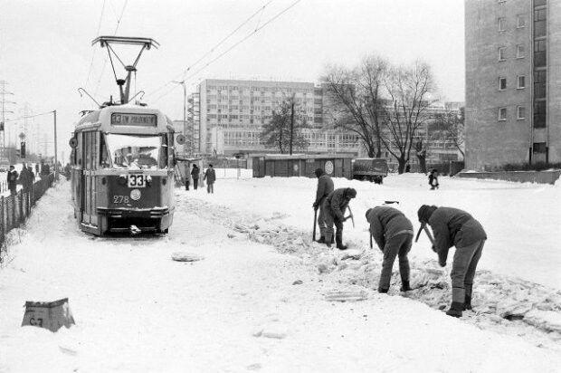 Zima w PRL