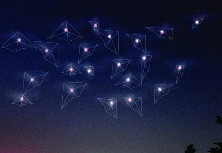 Glowing Pollution Sensor Equipped Kites Replace Beijing's Stars - Environment - GOOD