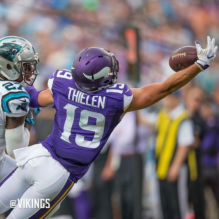 Thielen one-handed catch against Panthers.