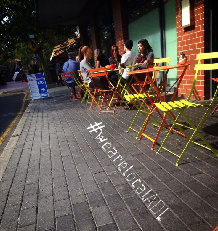 """Flashback : """"Perfect weather at Hey Jupiter for lunch in Rundle Street East"""".   #wearelocalADL #empirepr #adelaide #rundlesteast #southaustralia"""