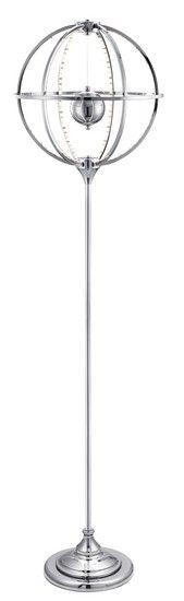Stojací lampa SEARCHLIGHT SL 4575-222CC | Uni-Svitidla.cz Designová #stojací #lampa s paticí LED pro světelný zdroj #design #lamp #floorlamp #lamps #stojacilampy #lampy #shades