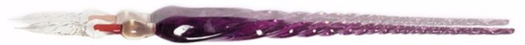 "J Herbin Glass Dip Pen - Purple 7 1/2"" vanness1938.com"