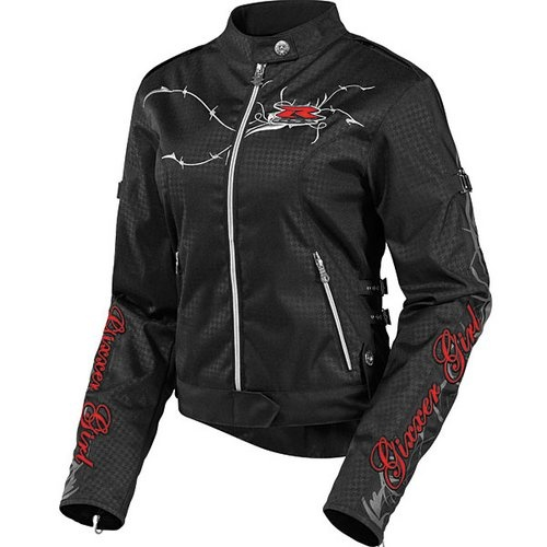 Icon Women's Hella Gixxer Jacket at RevZilla.com