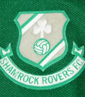 Shamrock Rovers FC  Ireland, child shirt. Beautiful Le Coq Sportif home shirt. This Dublin based club has won many titles in the Republic of Ireland