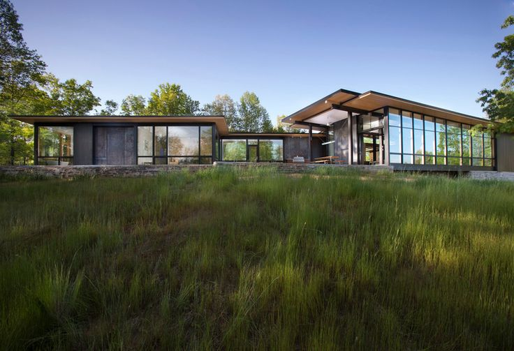 13-acre site in the foothills of the Blue Ridge Mountains- By Rob Carlton