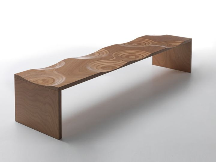 Ripples Outdoor Bench By HORM Ripples Outdoor Bench By HORM · Custom  FurnitureWooden ...