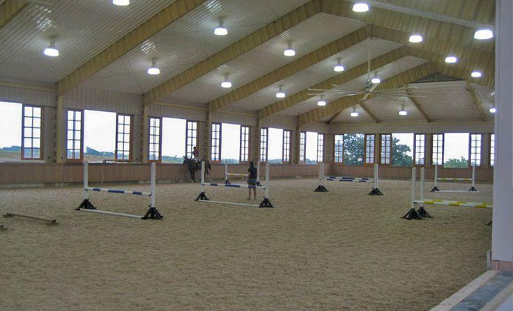 84'x200' Indoor Arena, Riding arena itself measures 84'x225' with garage at end, Upperville, VA