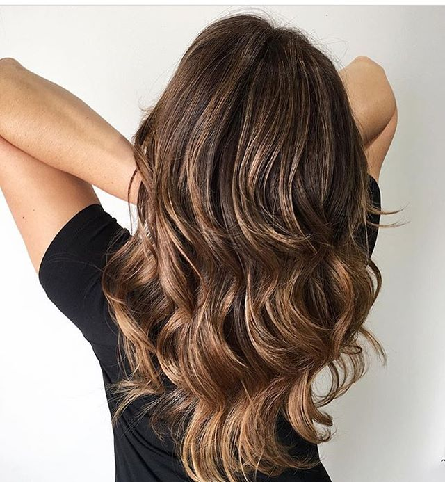 Espresso And Caramel Brunette Color By Sadieface Hair