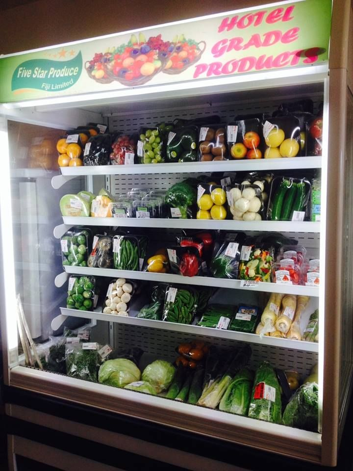 Our produce fridge is well stocked with lots of yummy imported fruit & vegetables. Come in & see for yourself :) http://on.fb.me/1btfCpc