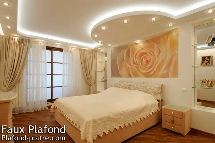 50 best images about faux plafond on pinterest coiffures for Staff plafond chambre a coucher