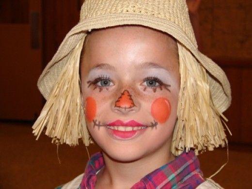 Scarecrow Makeup: Designs, Tips, Tutorials