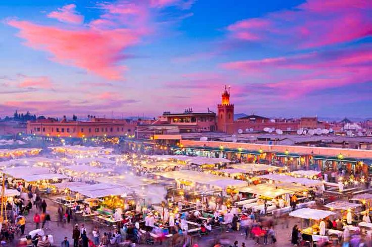 Marrakech, Morocco (photo by Scott Barbour, Getty Images)