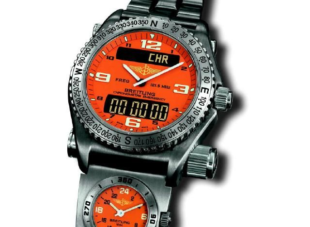 Industry News - Breitling Emergency Watch Aids in Rescue [1/30/03] - TimeZone