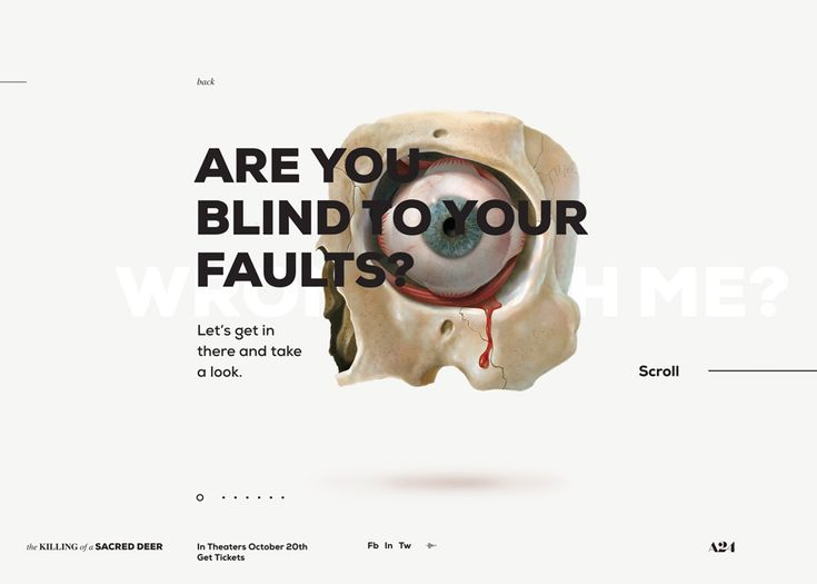 The Killing of a Sacred Deer - Awwwards Site Of The Day - Awwwards