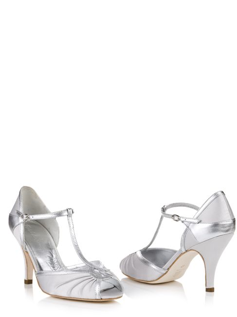 Rachel Simpson Wedding Shoes   www.ForTheBrideMag.com
