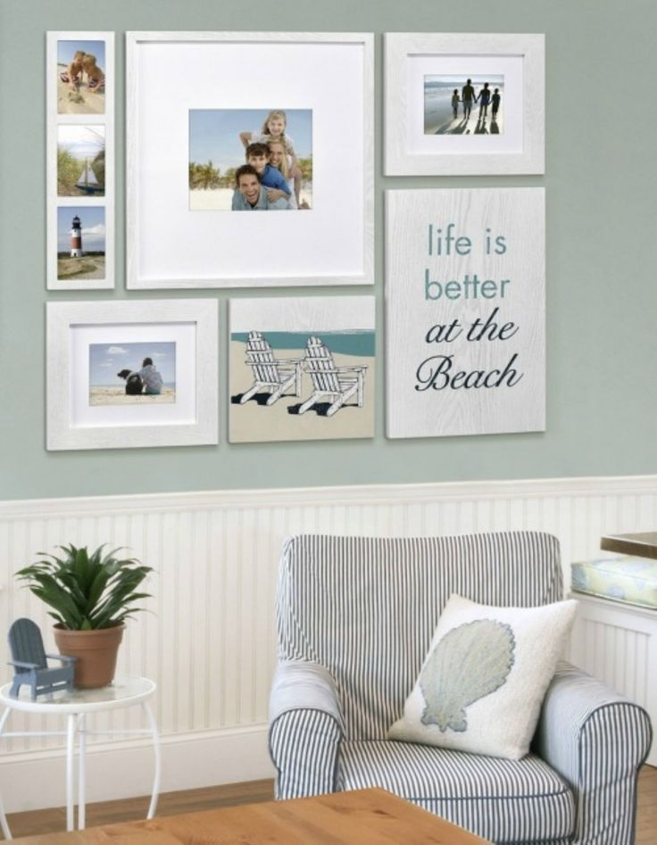 Best 25 coastal living rooms ideas on pinterest beach - Ideas decorating living room walls ...