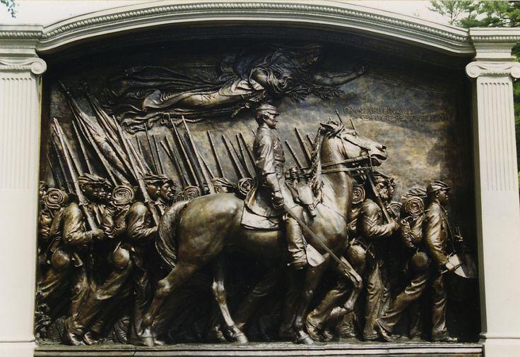 Robert Gould Shaw Memorial via Wikimedia Commons.