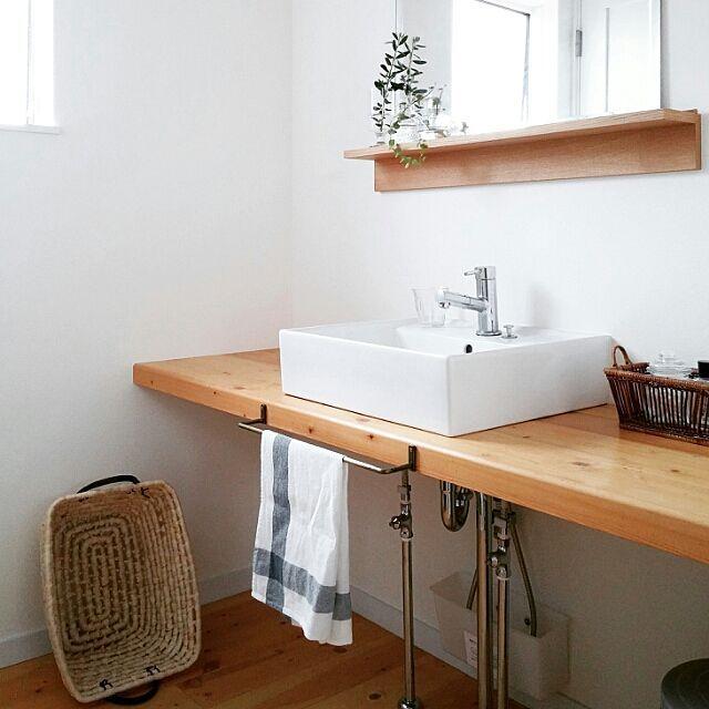 植物 洗面所」に関する部屋のインテリア実例の検索結果 | RoomClip ... Bathroom/無印良品/IKEA/植物/洗面所/北欧/シンプル/