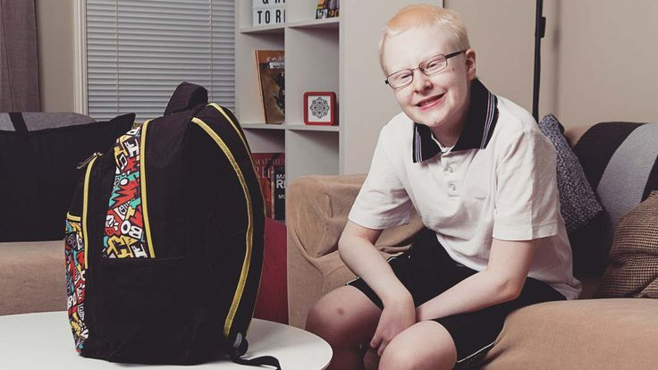 The 13th of June is International Albinism Day. It's a rare condition that only affects around 1000 Australians. One of them is 13-year-old Xander. So, we asked him to tell us all about it.