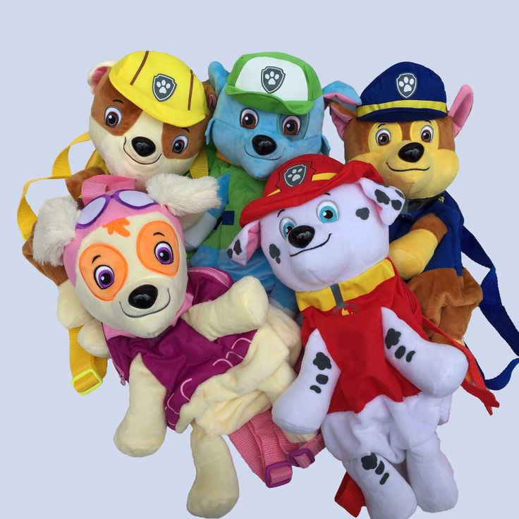 Cute Cartoon Puppy Patrol Plush Backpack 40CM, Puppy Dog Patrol Anime Figure Juguetes Kids Toy #>=#>=#>=#>=#> Click on the pin to check out discount price, color, size, shipping, etc. Save and like it!