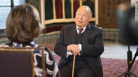 Expressing outrage at ISIS' perversion of his religion, the chairman of Great Mosque of Paris calls for military action against the group's stronghold in Syria.