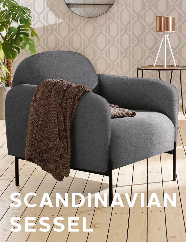 Hoher Sitzkomfort Trifft Scandic Optik! Der Sessel Von Andas Wirkt Mit  Seinem Außergewöhnlichen Design