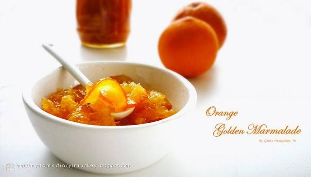 Citra's Home Diary: Orange Golden Marmalade