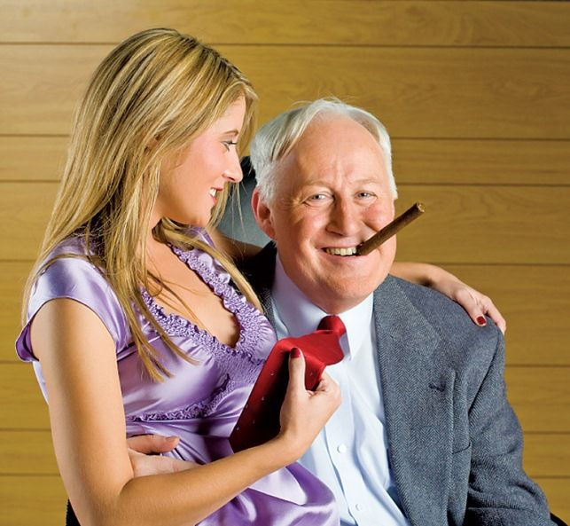 A mítosz, miszerint az idősebb férfiak fiatalabb nőket akarnak | Életmód 50