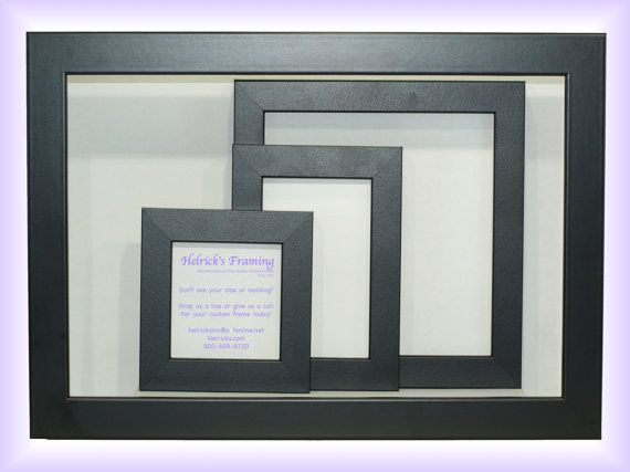 4x4 20x30 black custom picture frames custom sizes for art photography certificates