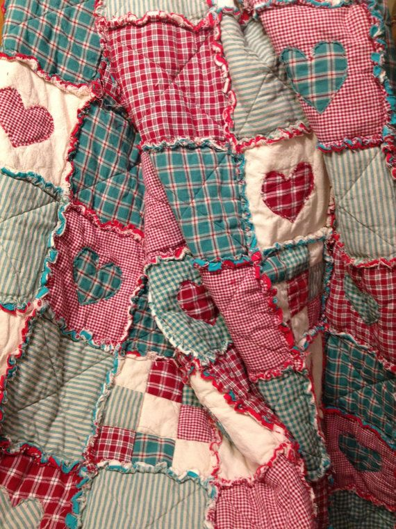 Heart country quilt! Love!!!!